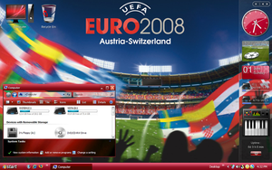 EURO 2008 DESK by sagorpirbd