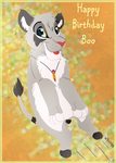 Happy BOOthday by thetelltaleheart