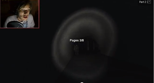 What Pewdie Looks Like When Slenderman Comes by X-10AFreedom