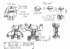 Teaser Character REVEALED! Meet R.O.B. by theINAshow