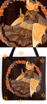 Bookish Bat Bag and more by Barukurii