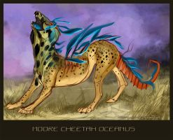 Moore Cheetah oceanus by MUSONART