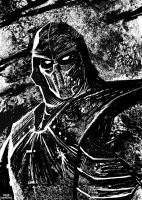 Noob Saibot by OscarCelestini