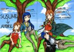 [Sneak preview] Susume ~ Future Cover Art by shade1995
