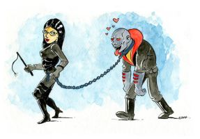 Destro in love by littlereddog