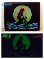 The Little Mermaid (Glow in the Dark) by RockerDragonfly