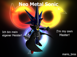 I'm my own Master by BlackMetalSonic