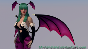 Morrigan Aensland by MrAensland