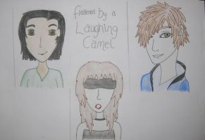 Flattened by a Laughing Camel by jenjendavieeees