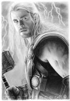 Thor (Chris Hemsworth) by Dreamdancer89