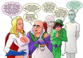 TLIID 108. The Big Bang Theory super-villains by AxelMedellin