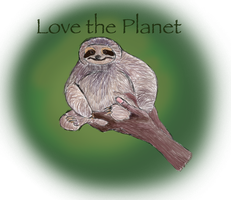 Love the Planet by pandaloverlol