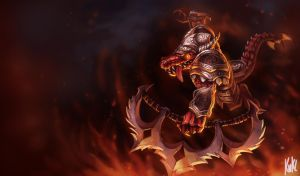 LoL - Brutal Renekton by Knockwurst