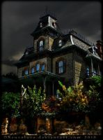 Haunted House by scuroluce