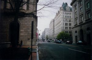 12th street downtown D.C. by poeticwriter007