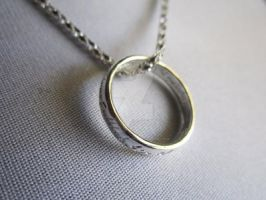 Lord of the Rings Sterling Silver Necklace by MammaShaClothing