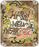 2012 New Year Card by MarumeChiisa