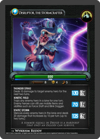 Dota2 TCG - Disruptor by goldenhearted