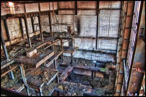 Destroyed factory... by MrVincenzo
