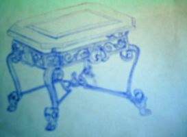 Ornate Table by saphirefox