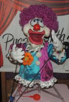 Clown 1 Puppet by PuppetSmith Arts by kingart4