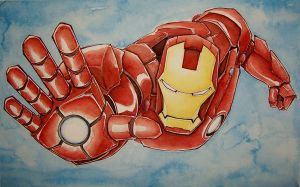 iron man by mjfletcher