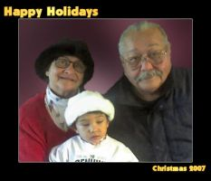 Happy Holidays Grandparents by frotton