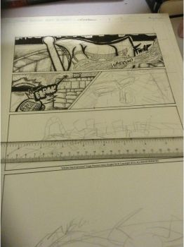 Initiate! Mechanoiasis! Wip Partial Page Preview by MGartist