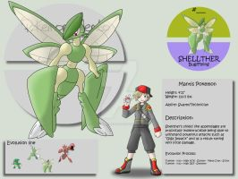 Shellther by Pokemon-Mento