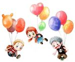 Fly with balloons by kinly