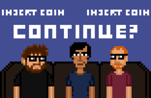 Continue? Pixel Art Large by crookedcartridge