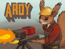 Ardy the Engineer badge by Tresch