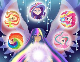 Rainbow Power by kilala97