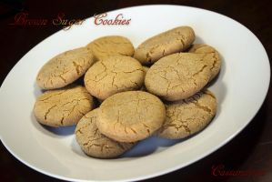 Brown Sugar Cookies by Cassandrina