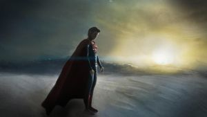 Man Of Steel Snow by SalReaper666