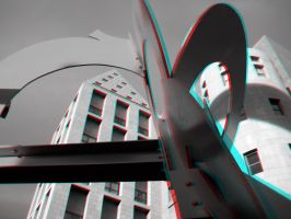 Two Other Artists - Anaglyph by Temphis