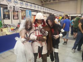 Bride Witch,Ezio and Hunter by Kalix5