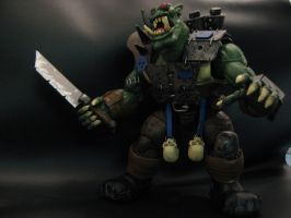 warhammer 40k custom ork 3 by soulbrother73