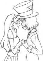 Alice and Reginald by DeficientAtLife