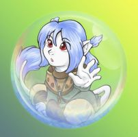 Bubble Child - Auron by Wazaga