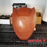 Dino Charge Red Helmet Cosplay Prop by MontrealCosplay
