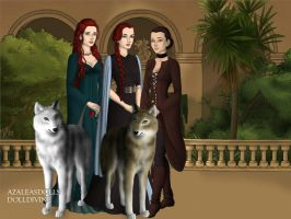 The Stark Ladies by BlackRoseOfSummer