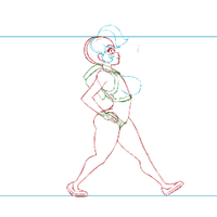 Sinchi Walking Animation WIP by GysKing1
