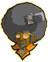 Afro of Boom - Colored by grimcinder