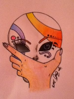 Hush the mask by Galialay