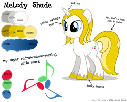 Melody Shade: A Reference Guide by Emkay-MLP
