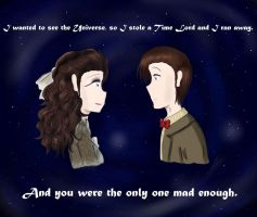 Doctor Who OTP by MissMayHirai