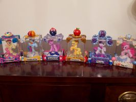 Mane Six Snow Globes by Thebubbleqat