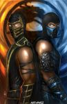 Mortal Kombat 9 - Fire and Ice by W-E-Z