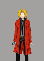 Edward Elric by Skeletal-Clown